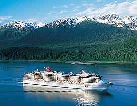 Alaskan Cruiselines Visiting Glacier Bay National Park And